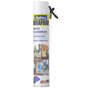 Espuma de poliuretano en aerosol rendimiento