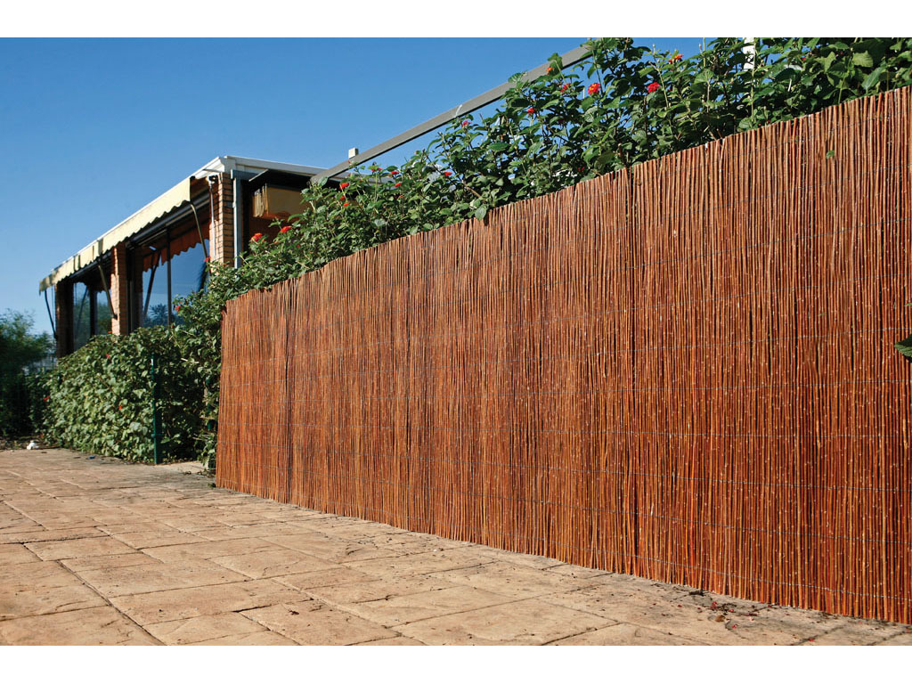 Mimbre natural intermas 1 x 5 m for Canizo leroy merlin